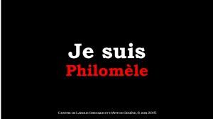 Je suis philomèle